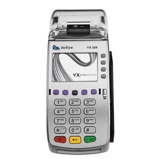 verifone vx520 credit card terminal